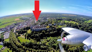 FPV flight around Arundel Castle - Excellent test of the Insta360 GO-2 in gusty conditions.