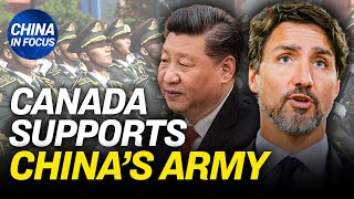 Canada under fire for training Chinese troops; China-linked firm funds Facebook fact-checker