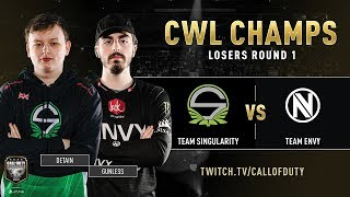 Singularity vs Team Envy | CWL Champs 2019 | Day 3