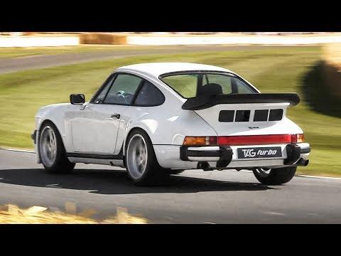 F1-powered, road-legal Porsche 930 TAG Turbo by Lanzante: 1.5-litre V6 Turbo Sound!
