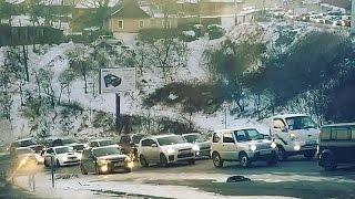 Владивосток ул. Капитана Шефнера подъем Субару Subaru Astakada