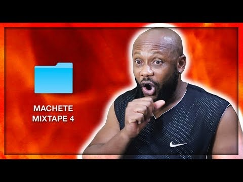 MACHETE MIXTAPE 4 - MAMMASTOMALE - GEMITAIZ, IZI, SALMO   REACTION!!!