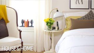 Interior Design — Affordable Sophisticated Bedroom Makeover