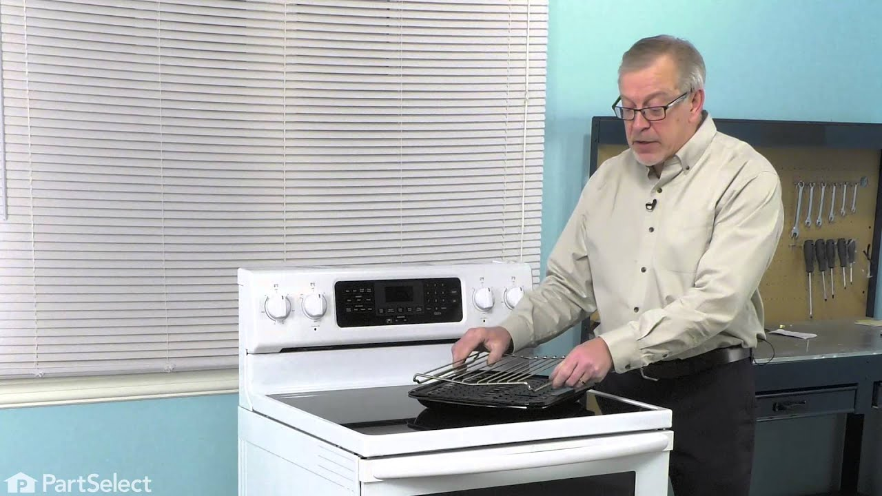 Replacing your KitchenAid Range Broiler Pan with Roasting Rack