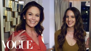 What's In Your Bag With Diane Lane | Vogue