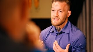 UFC 194: Conor McGregor LA Media Scrum