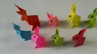 Origami Animal - How to make an Origami Rabbit