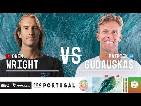 Owen Wright vs. Patrick Gudauskas - Round Three, Heat 10 - MEO Rip Curl Pro Portugal 2018