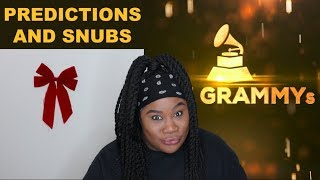 2019 Grammy Nominations   Reaction And Predictions