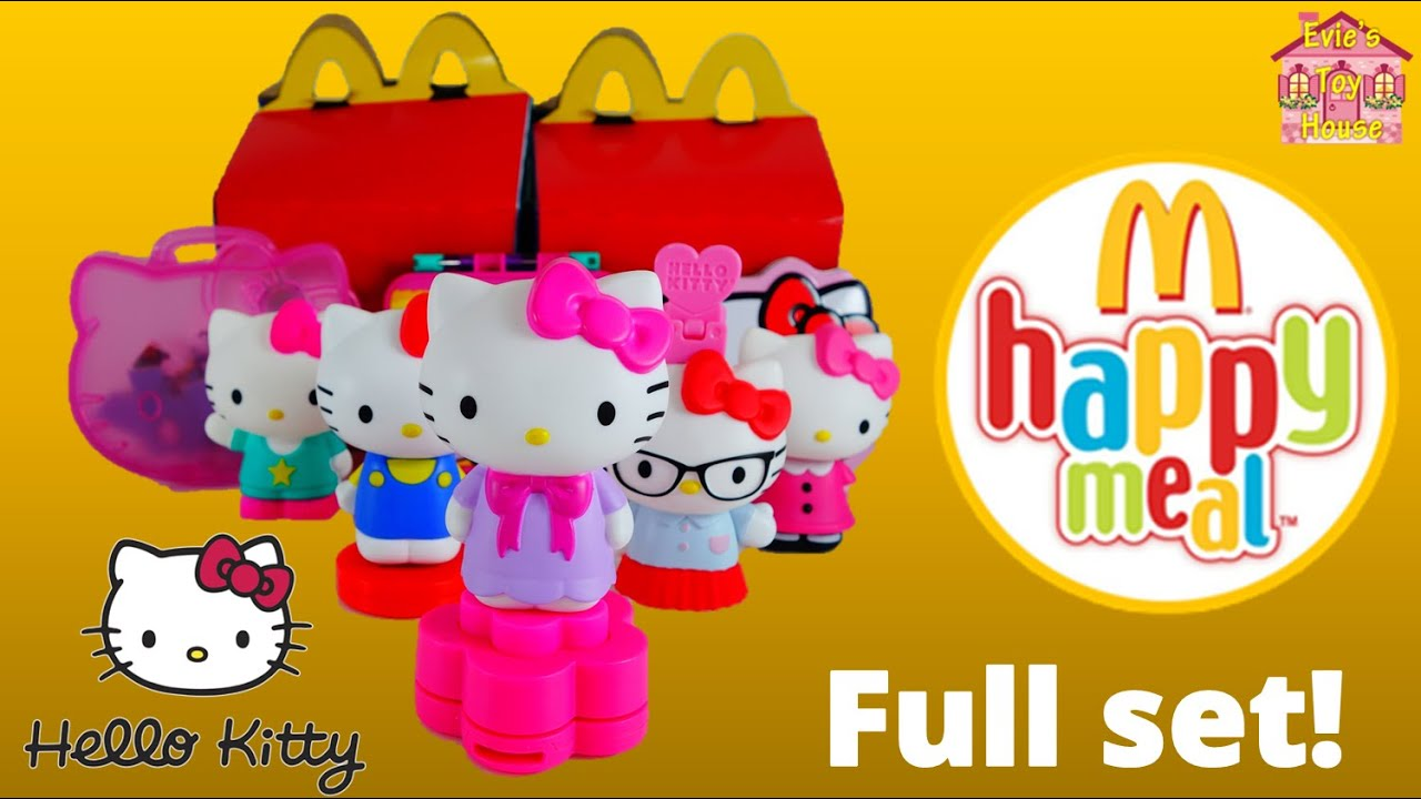 2015 Hello Kitty Stationary McDonalds Happy Meal Toys - Full set | Evies Toy House
