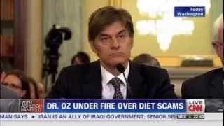 CNN: Senator McCaskill Grills Dr. Oz Over Diet Scams