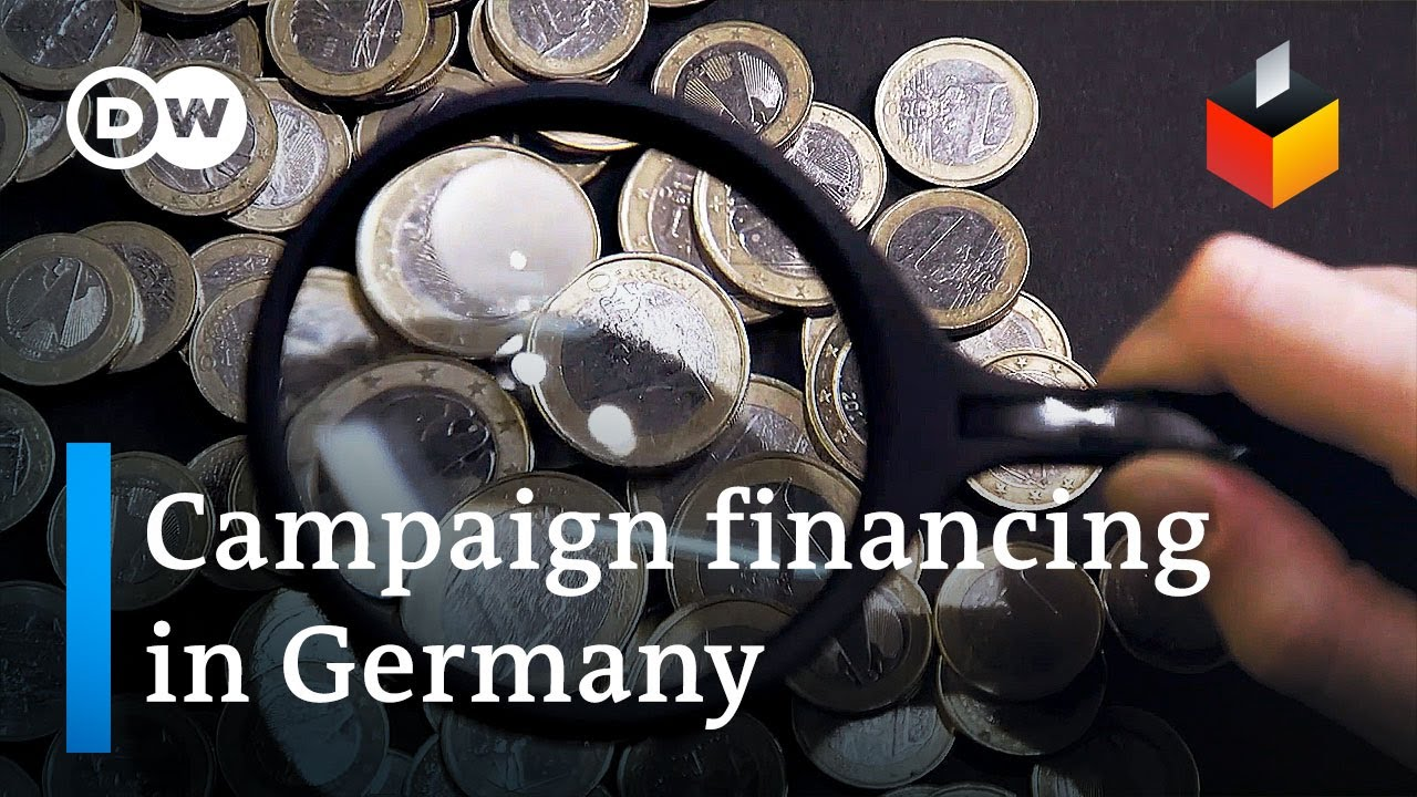 How German political celebrations fund their election projects|DW News thumbnail