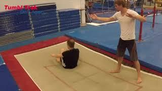 Trampoline And Gymnastics Tutorial - Arabian On Floor