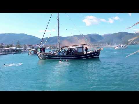 Ο Αγιασμός των Υδάτων στη Σάμη [video]