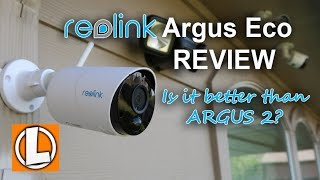 Reolink Argus Eco Wireless WiFi Camera Review - Unboxing, Features, Settings, Installation, Footage