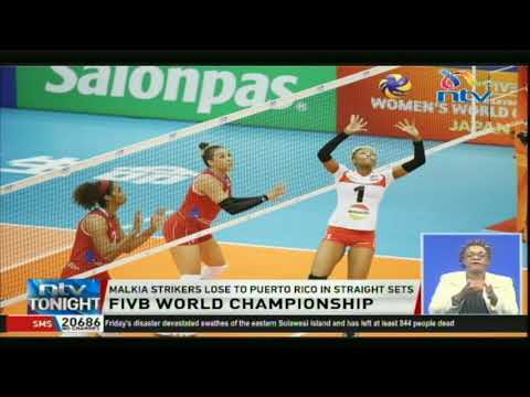 Malkia Strikers lose to Puerto Rico in straight sets