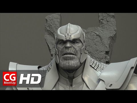 CGI VFX Breakdown HD: Guardian of the Galaxy Thanos by Luma Pictures