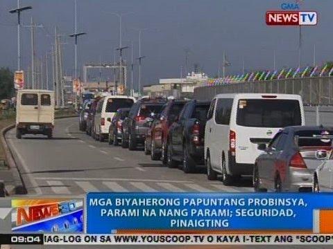 NTG: Mga biyaherong papuntang probinsya, parami na nang marami sa Batangas Port