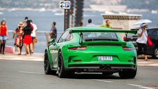 12x Porsche 991 GT3 RS driving in Monaco & Cannes !