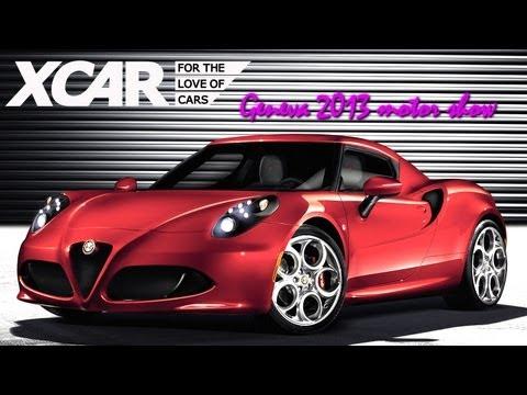 Alfa Romeo 4C, Geneva 2013 Motor Show