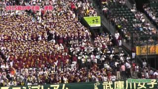 津商 【2015夏の甲子園・ブラバン高校野球応援歌】 応援チアリーダー