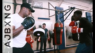 Giving Back To Finchley ABC ~ Anthony Joshua