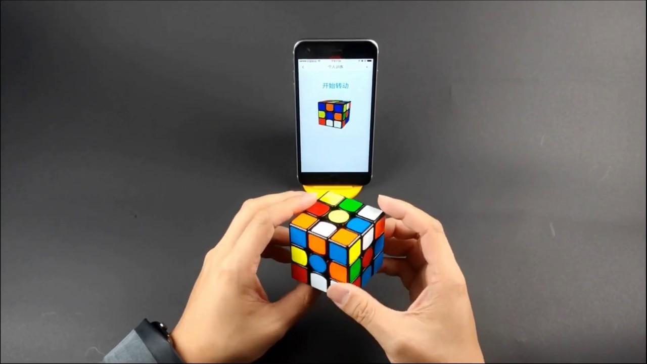 product video GAN Robot met GAN 356i 2 3x3x3 speedcube