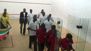 All Africa Squash Championships -January 2011 - South Africa