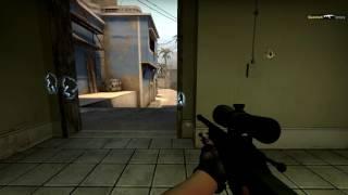 4 kills with AWP 3 NOSCOPE!!!   CS:GO movie