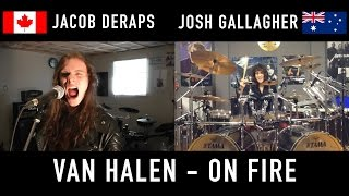 Van Halen - On Fire - Cover by Jacob Deraps and Josh Gallagher
