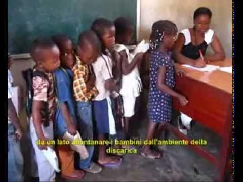 Projet d'intégration sociale des enfants de la décharge à Maputo