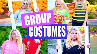 DIY Group Halloween Costumes!