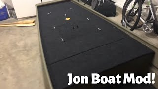 14 ft. Jon Boat Modification |COMPLETED|