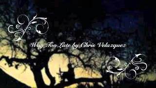 Way Too Late (Original Song)