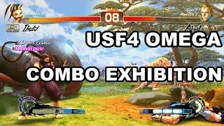 USF4 Omega Combo Exhibition