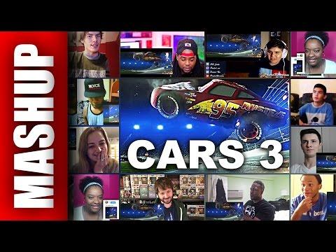 CARS 3 Trailer 3 Reactions Mashup
