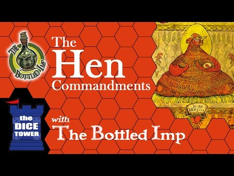 The Hen Commandments - The Bottled Imp Dice Tower Edition