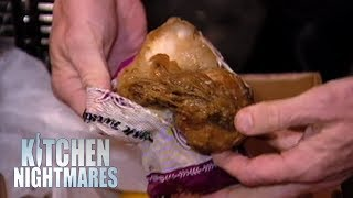 Owner Defends Having Rotting Food In Her Fridge | Kitchen Nightmares