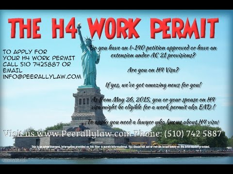H4 Visa work permit - Now Final Rule - To Apply call (510) 742 5887 ...