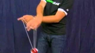Смотреть онлайн Обучение трюку Квиджибо с йо-йо