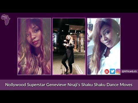 Genevieve Nnaji's Shaku Shaku Dance Moves - Nollywood Superstar Breaks Naija Internet - Celeb Gist