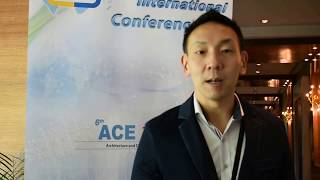 Dr. Daniel Joseph Whittaker at ACE Conference 2018 by GSTF Singapore