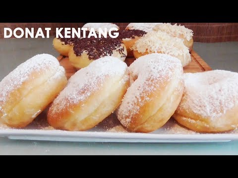 Resep Donat Kentang | Potato Donuts Recipe | Trivina Kitchen