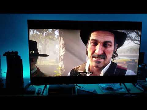 Red Dead Redemption 2 : Samsung Q8FN QLED 4K TV & My