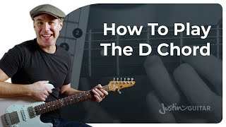 How to play D Chord on Guitar [all tricks REVEALED]