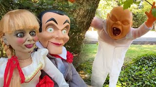 Annabelle and Slappy in Annoying Ghost Baby ASMR Roleplay | Living Dummy Does ASMR