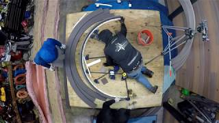 Dr Decks THGS Timbertech PVC deck board bending