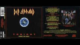 Def leppard Tonight demo