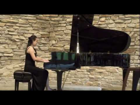 Debussy - Reflets dans l'eau (Reflections on the Water) from my recital.