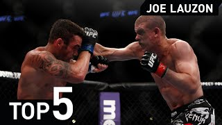 Joe Lauzon MMA Jiu Jitsu Top 5 UFC Fight Highlight 2015